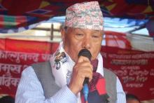 गा.पा. अध्यक्ष अमर कुमार नेम्वाङ